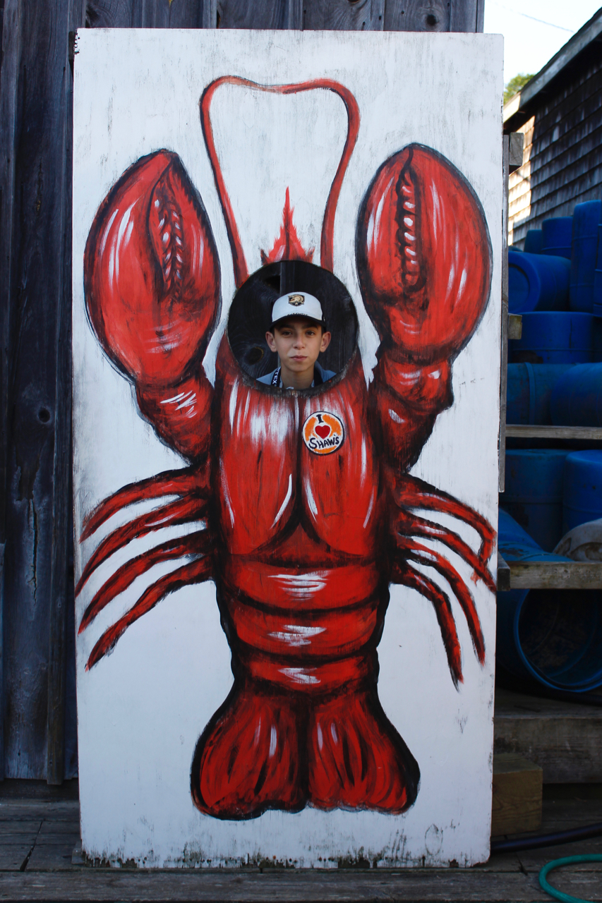 Andrew Palmeri is a lobster