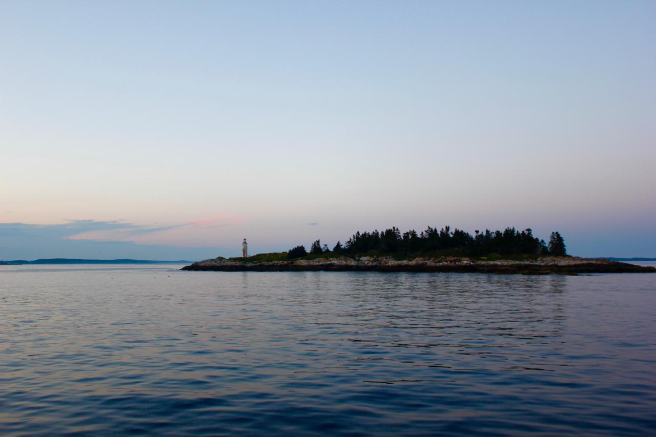 Franklin Island lighthouse