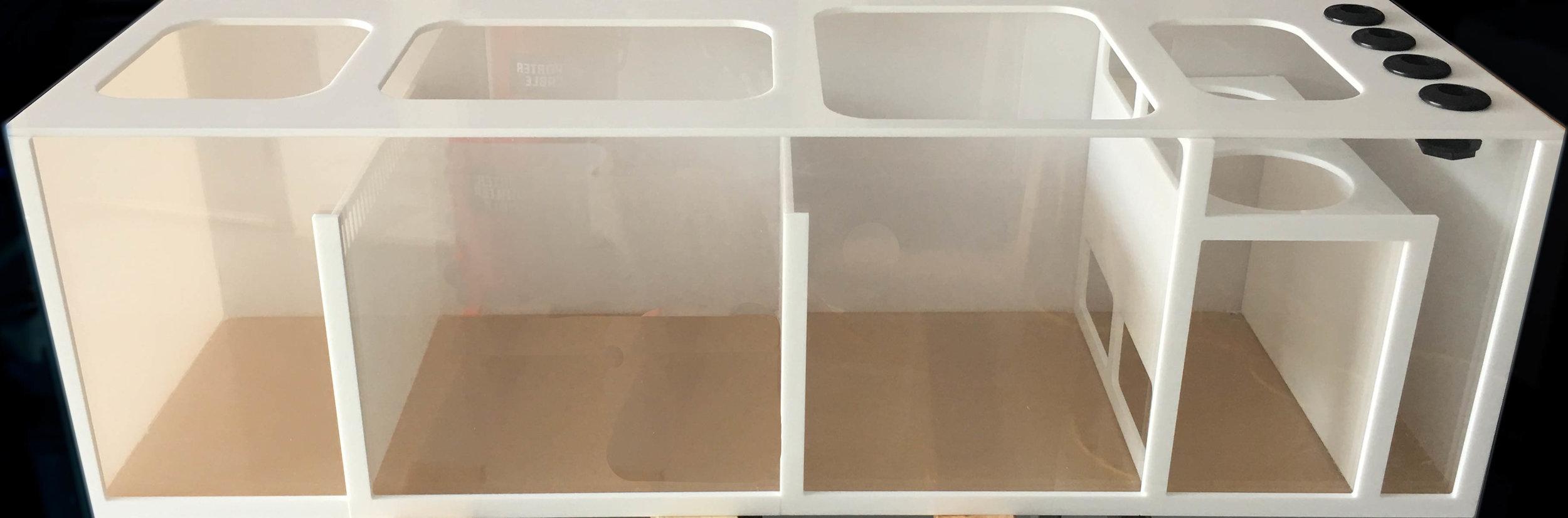 Large sump filter
