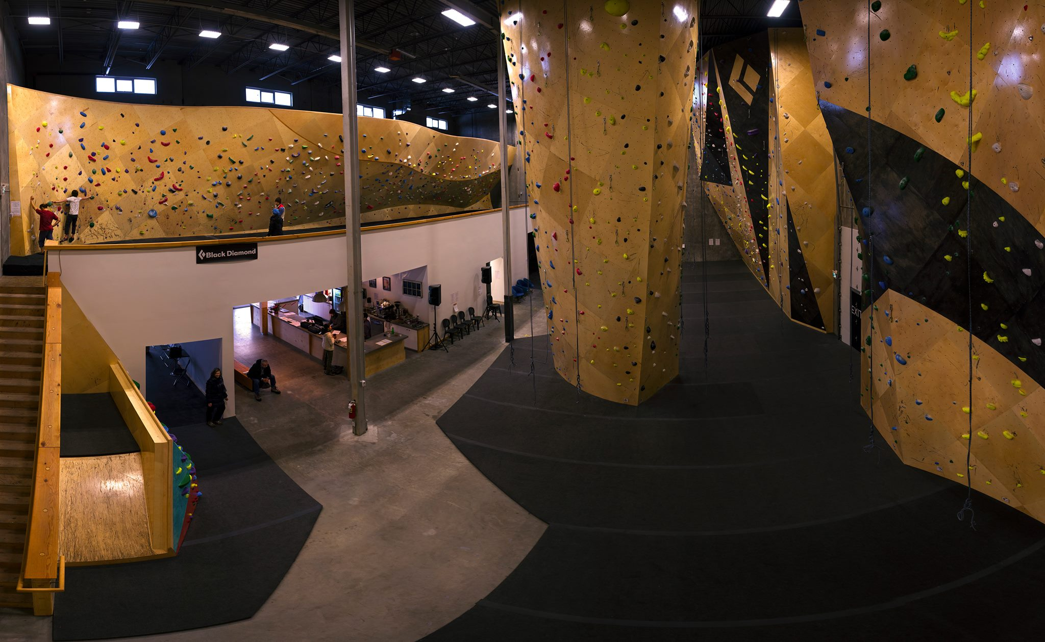 Ground Up Climbing Centre. Photo courtesy of Teacozy Design & Photo.
