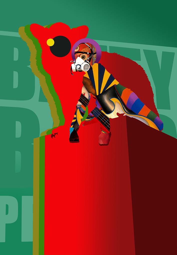 Batty Bass Graphics