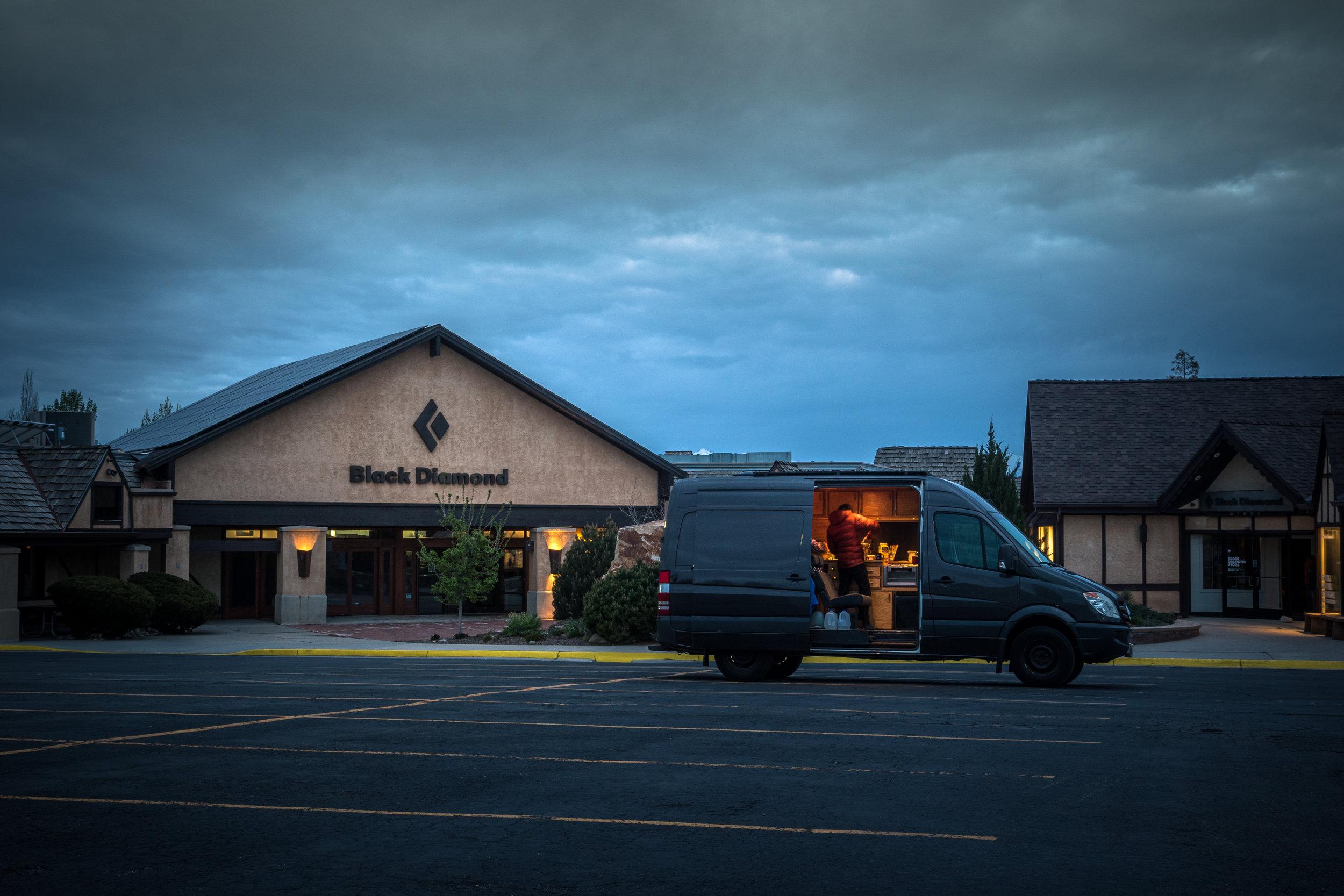 van outside black diamond hq.jpg