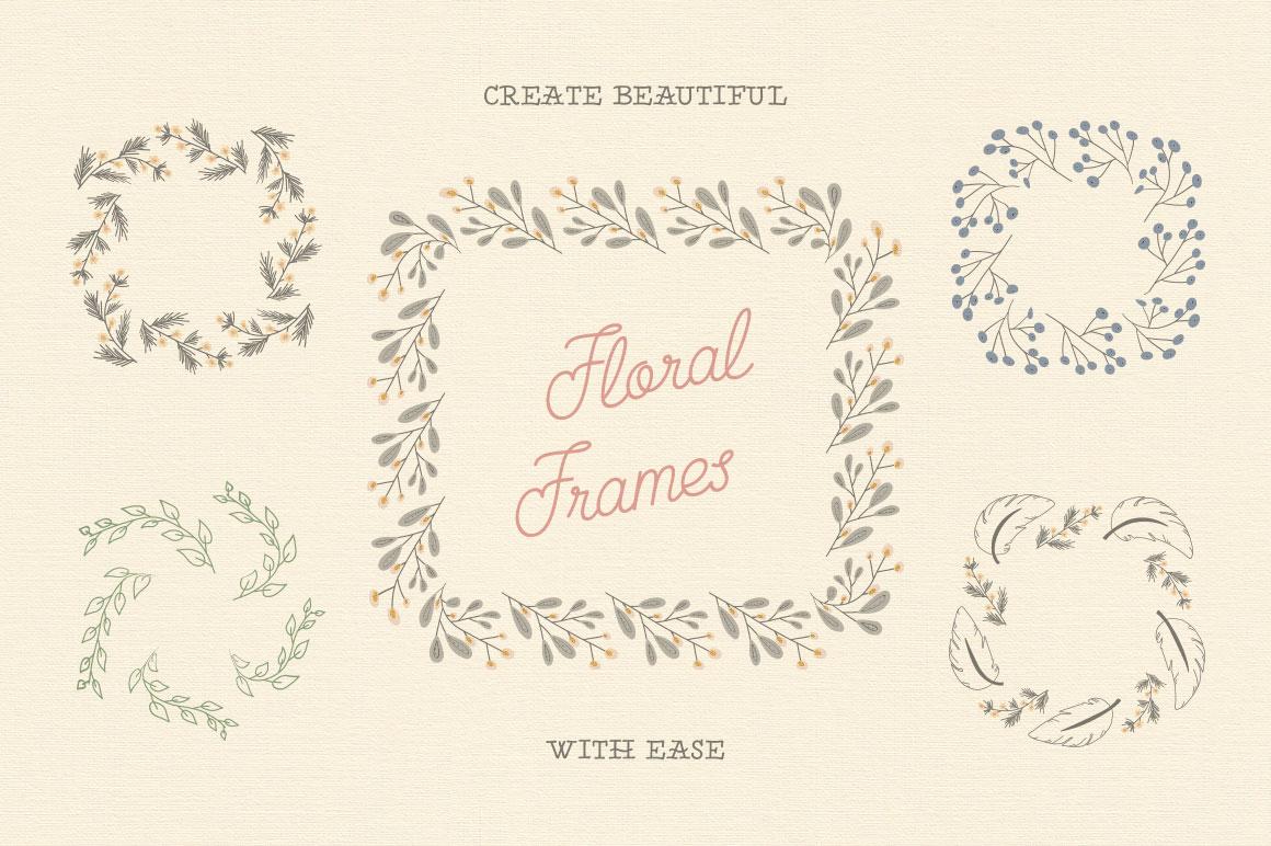 Creative Veila – Download Free Floral Pattern Illustrator