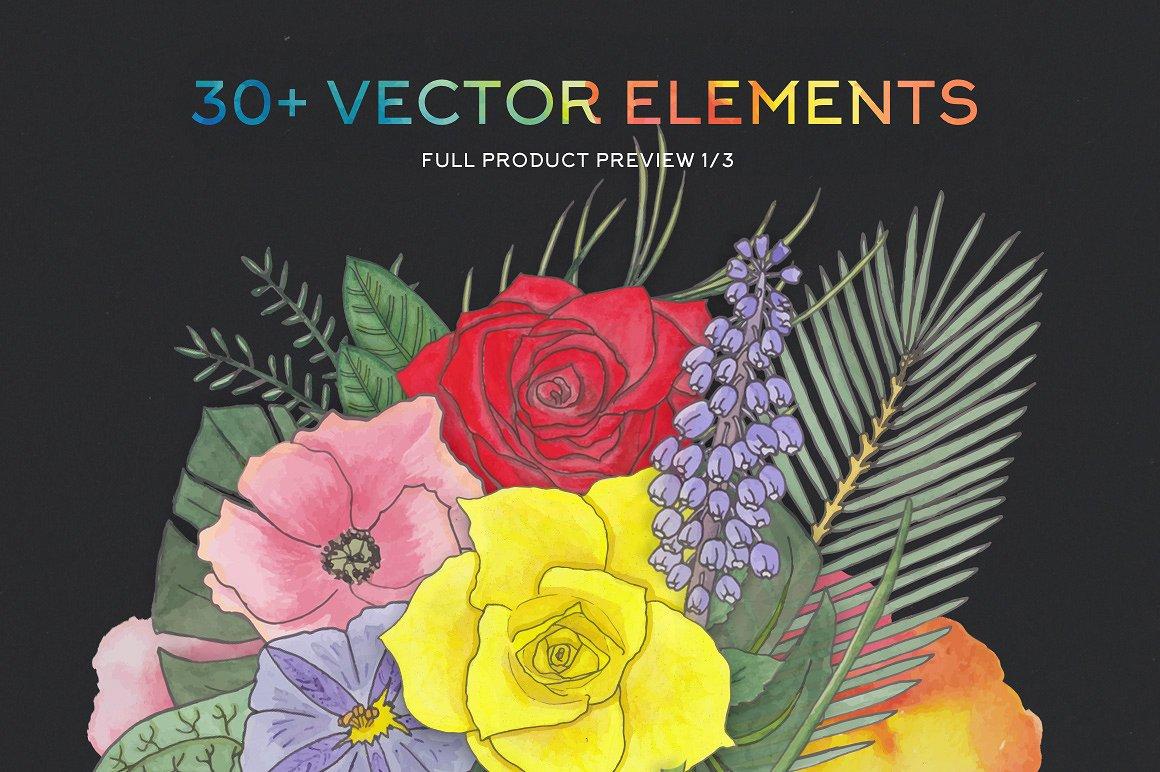 FlorArt Watercolor Kit