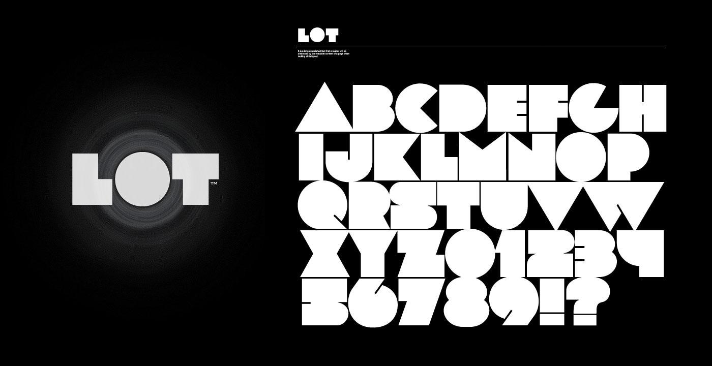 LOT font