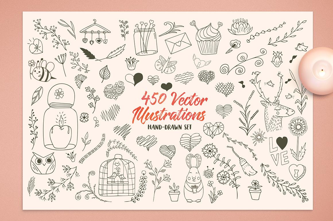 Romantic Dreams Graphic Pack