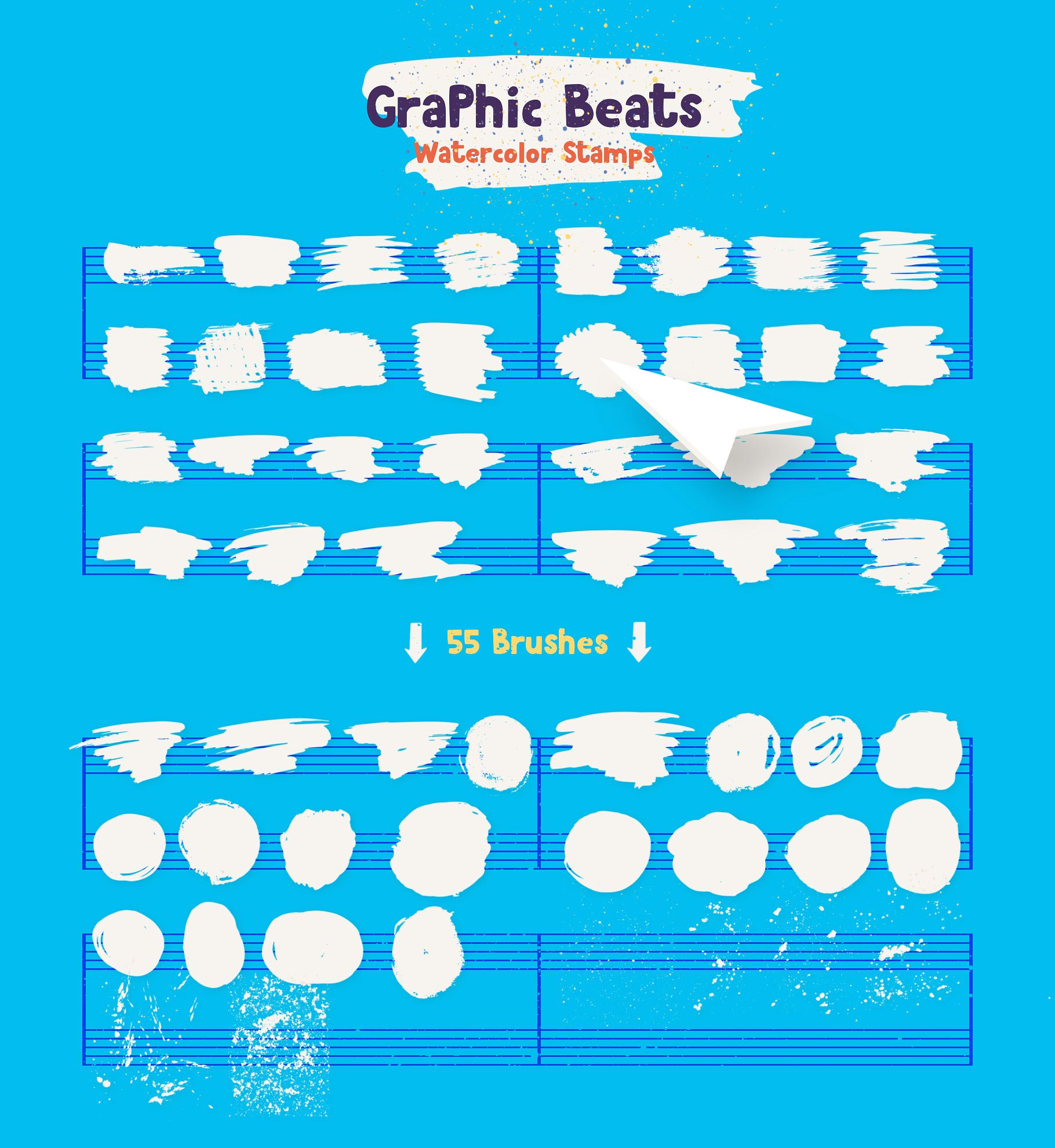 Graphic Beats: Photoshop Brushes
