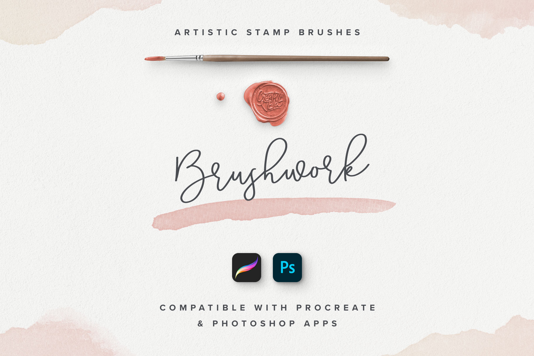 Brushwork: artistic Procreate & Photoshop brushes
