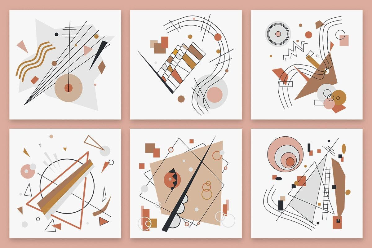 Modernist Abstract Vector and Pattern Set.jpg