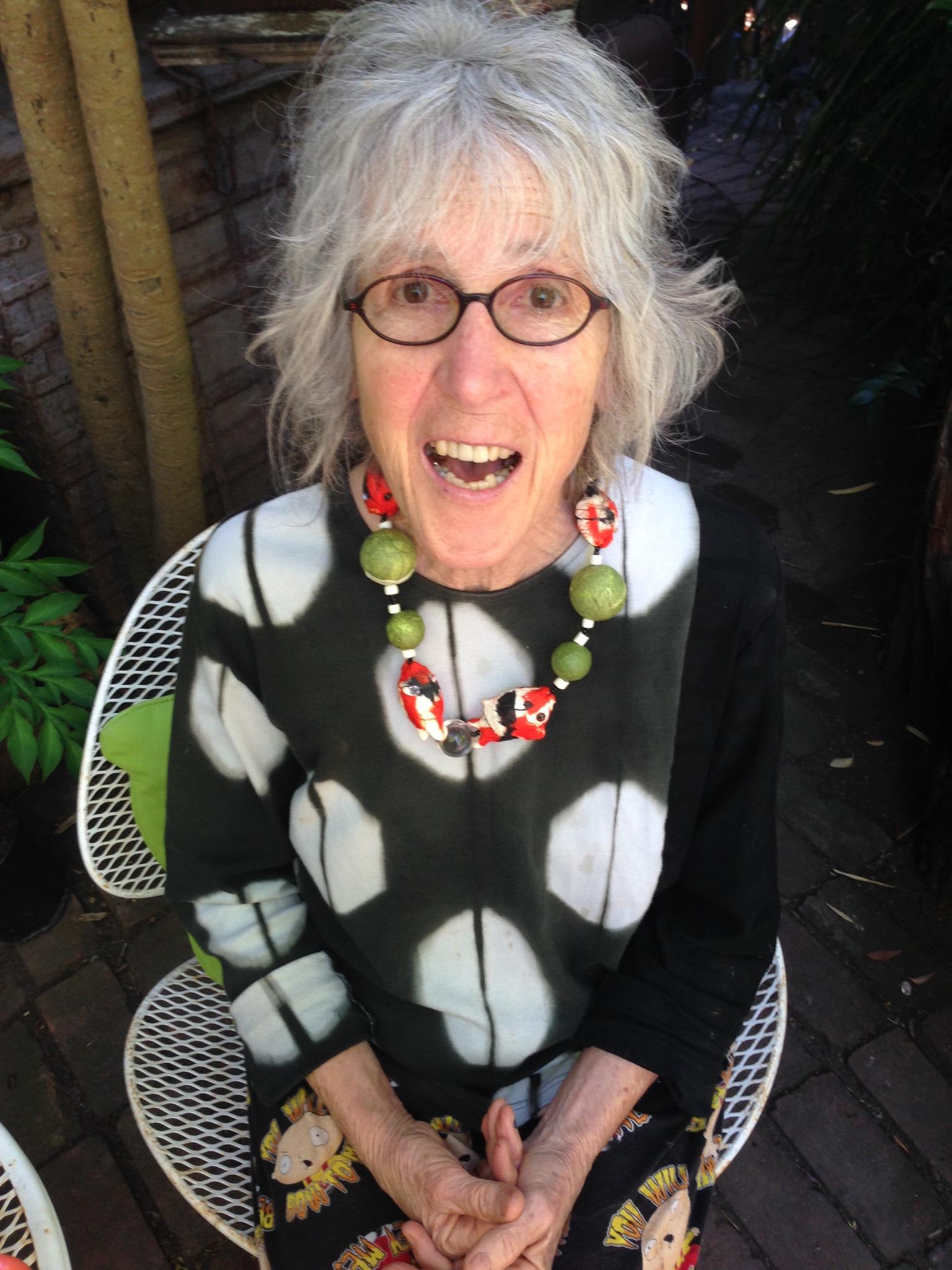 Marcia Donahue   Marcia is a world-class gardener and ceramic sculpture artist based in Berkeley, CA.   Marcia in her garden