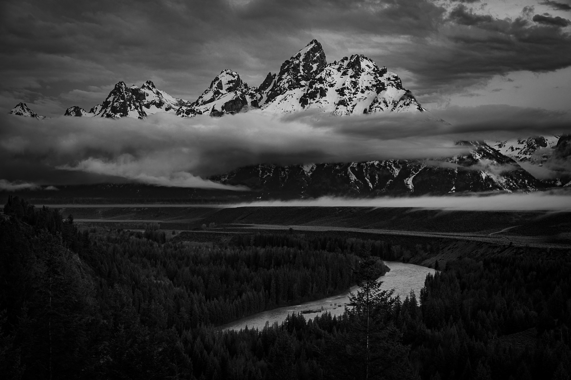 Snake River made famous by Ansel Adams