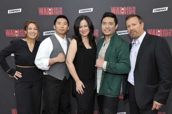 Diana Lee Inosanto (Producer and God Daughter to the Late Bruce Lee), Mark Anthony Ly, Shannon Lee (Bruce Lee's Daughter), Henry Le, Ron Balicki (Founder of Martial Arts Research Systems)
