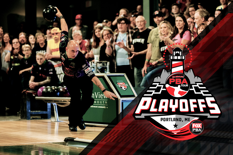 JUNE 1 + 2, 2019 - The new PBA Playoffs is a 10-telecast event that will seed the top 24 players into an elimination bracket. The first eight shows of the PBA Playoffs will be televised on FS1 from Bayside Bowl April 8-10. The live semifinals and finals will be on FOX, Saturday and Sunday, June 1-2.SATURDAY JUNE 1PBA Playoffs: Final FourLive Televised Event (FOX)12:00-2:00pmDoors open at 10:30amSUNDAY JUNE 2PBA Playoffs: ChampionshipLive Televised Event (FOX)12:00-2:00pmDoors open at 10:30am