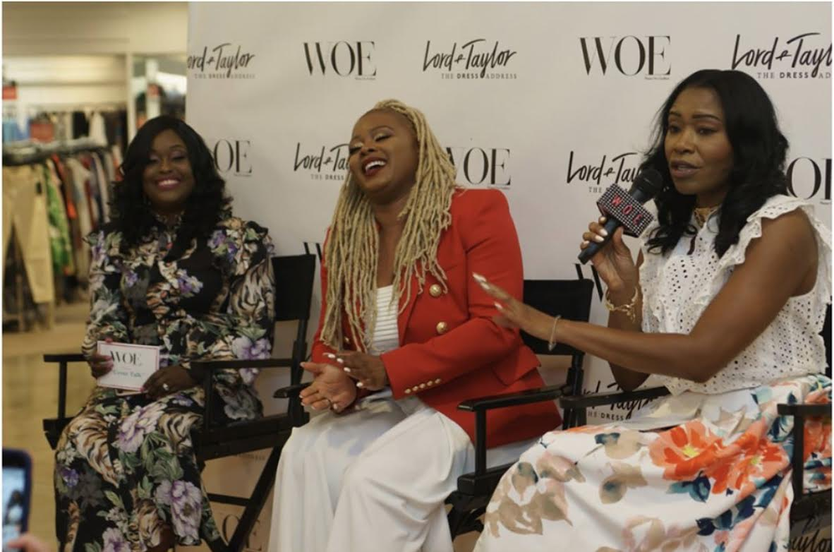 """Host -WOE Magazine """"Cover Talk"""" with Claire Sulmers"""