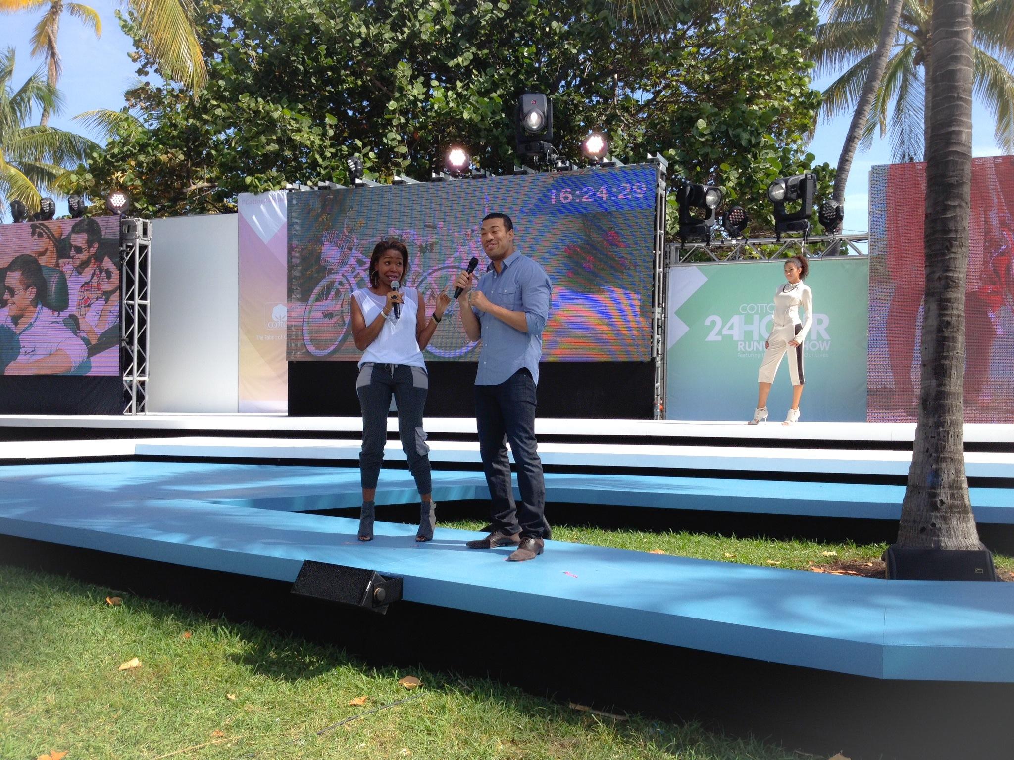 Host - Cotton 24Hour Fashion Show, Miami, FL