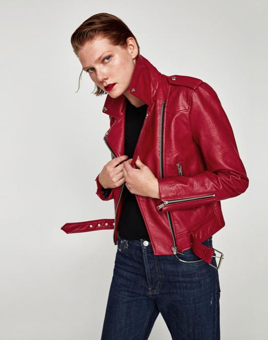 Leather Effect Jacket $49.99