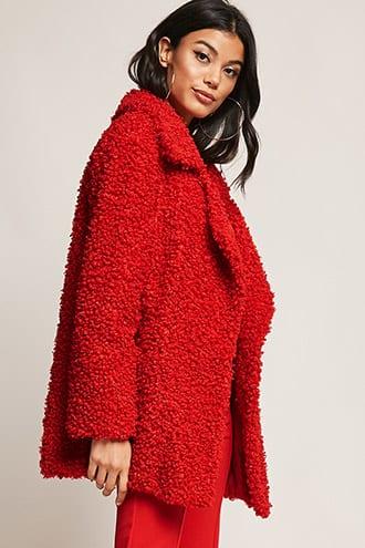 Shaci Faux Fur Coat $125