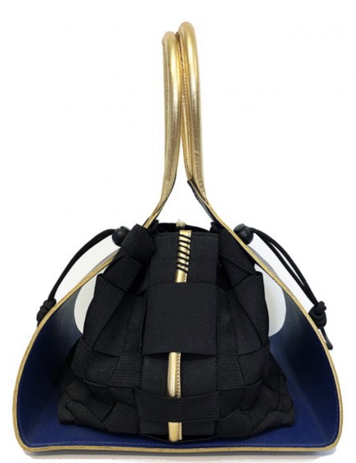 Inspired by Jimmy Choo and COACH, Alison Chang is a student at Savannah College of Art & Design and her bag is nominated for the HARRIAN NY Best Student Made Bag