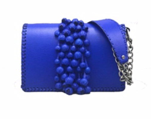 The Neomie DeMay handbag by To'sha nominated for the BROTHER best handmade handbag
