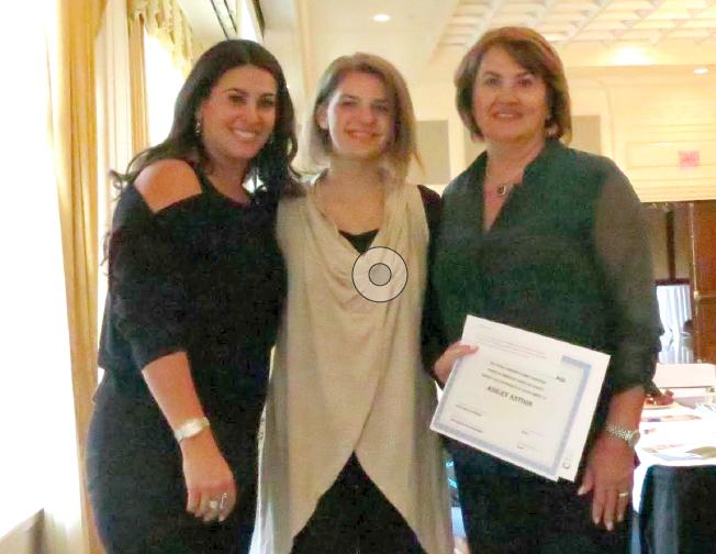 Left to Right: Reem Sesi, Ashley Antoon, Mona A. Paulus.