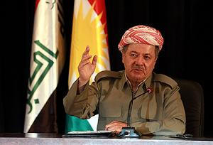 Iraqi Kurdistan's main opposition party called for Barzani to step down