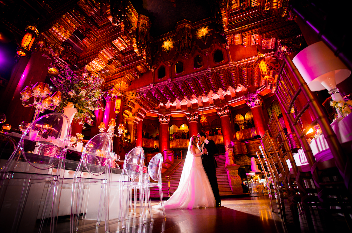 It's the Fox Theatre all over again! This wedding was at the Fox and one of our most memorable weddings ever! Just gorgeous!
