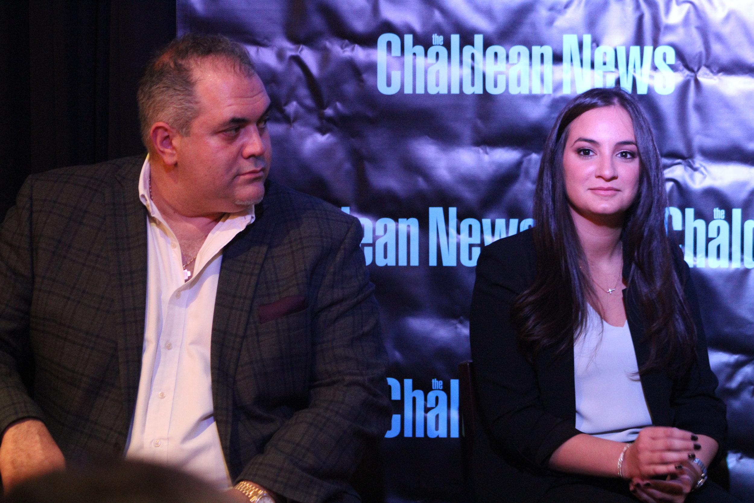 Zaid Elia an Serena Denha