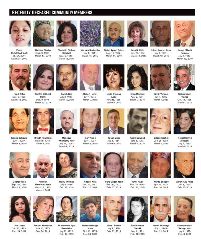 OBITUARIES — Chaldean News