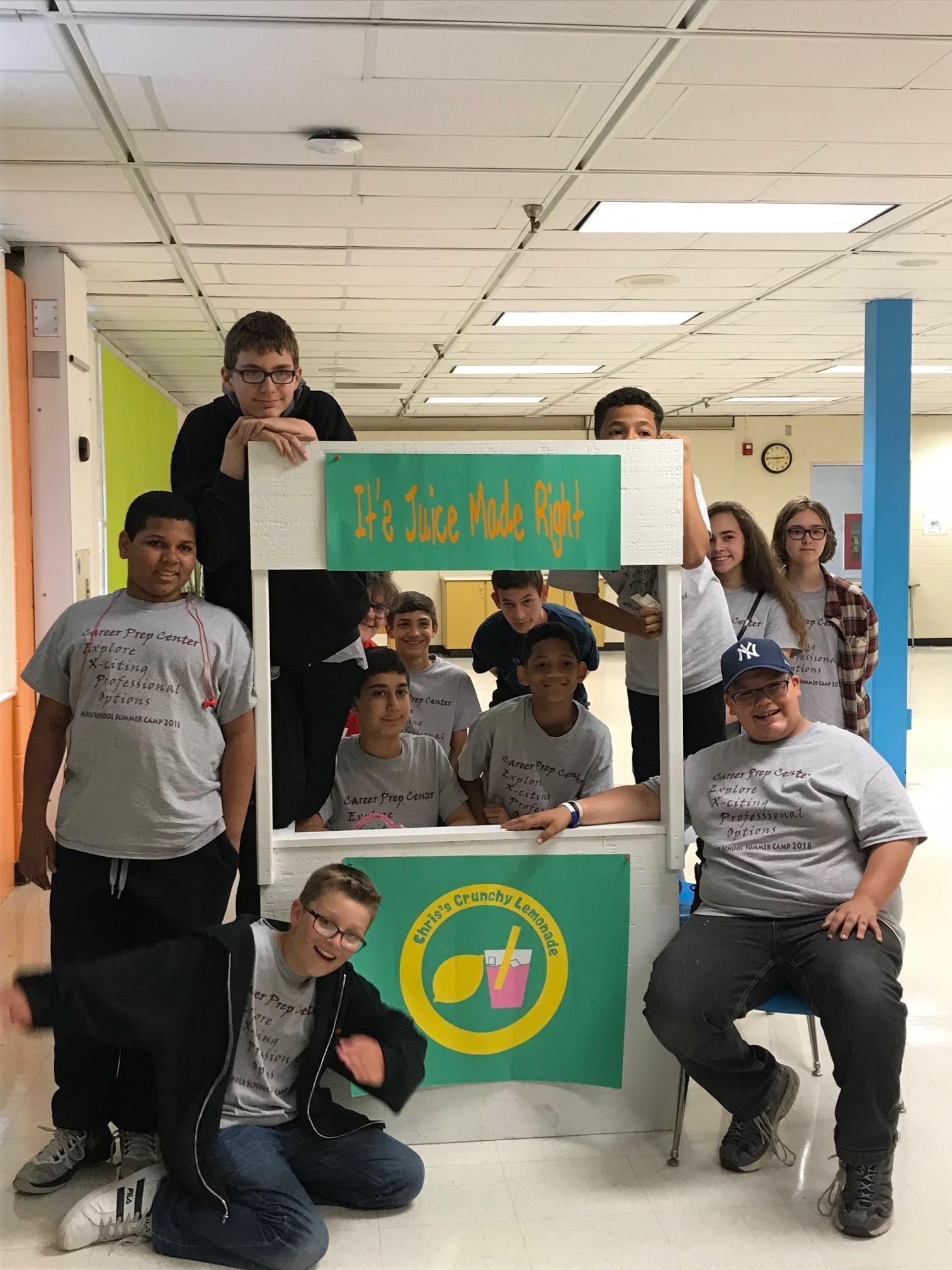 Rodney Karromi's students
