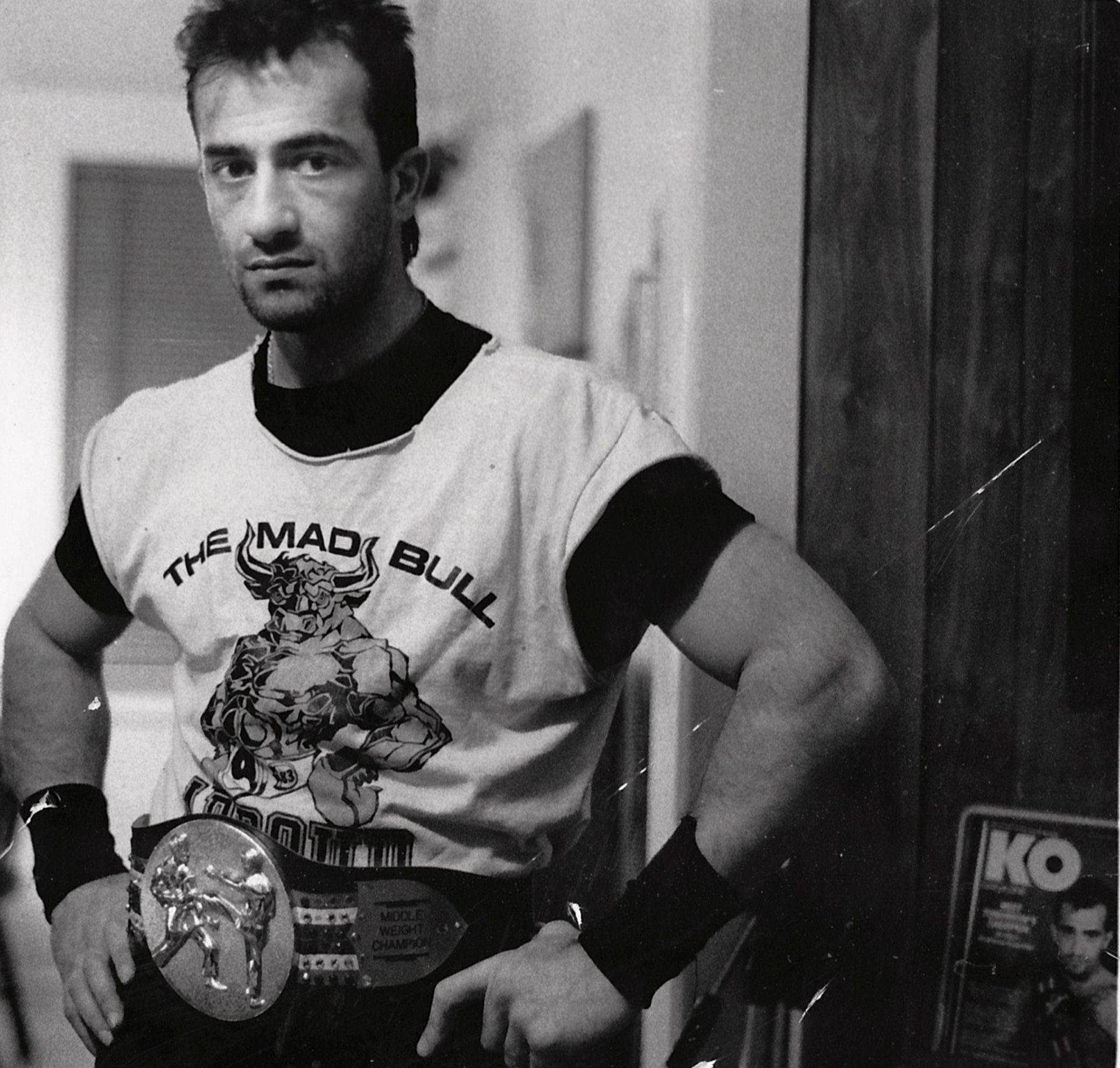 """Wael """"Bull"""" Abboud tried to become the first Iraqi-born Chaldean to win a title"""