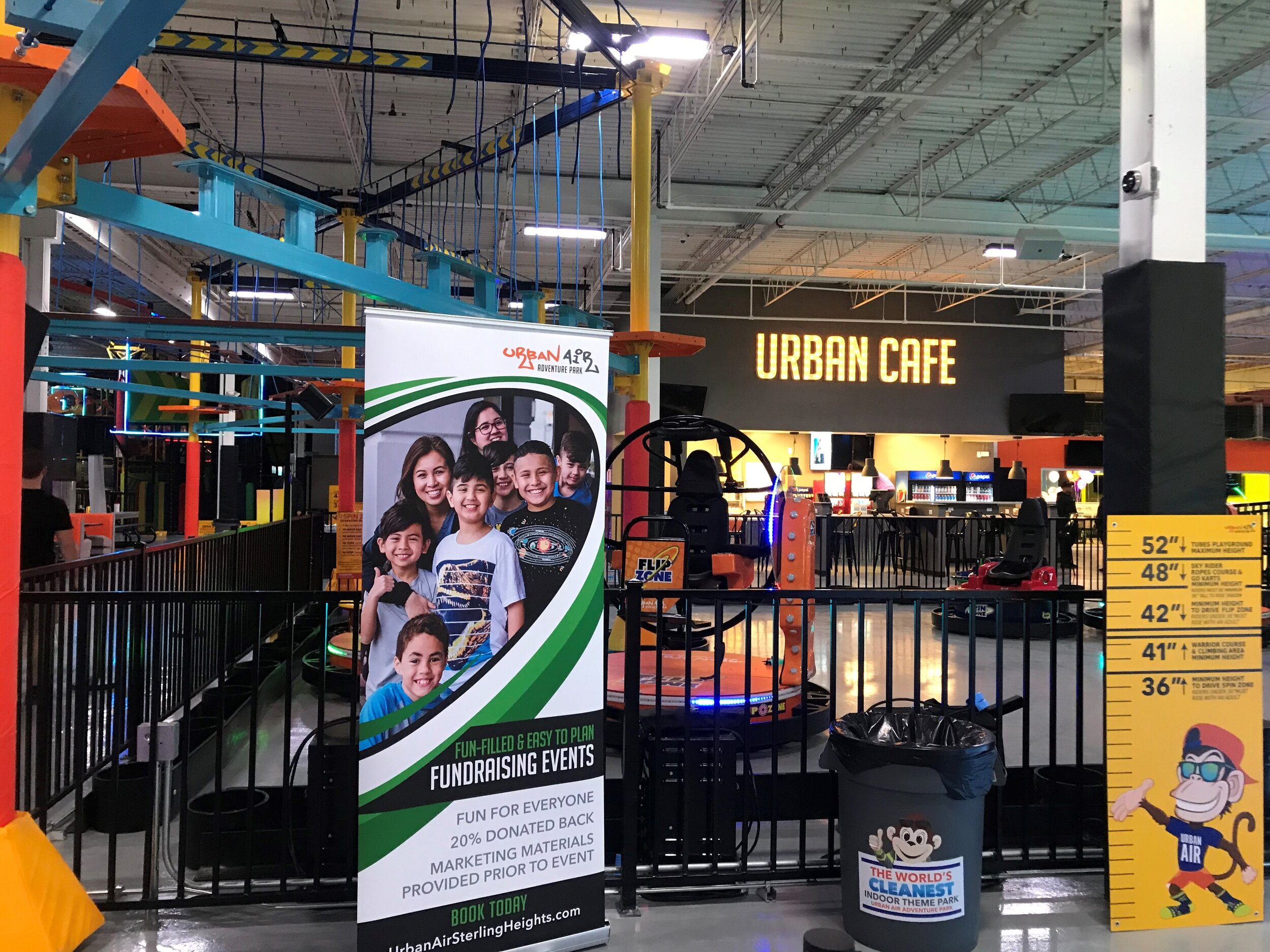 Urban Air gives the whole family the chance to join in on the fun!