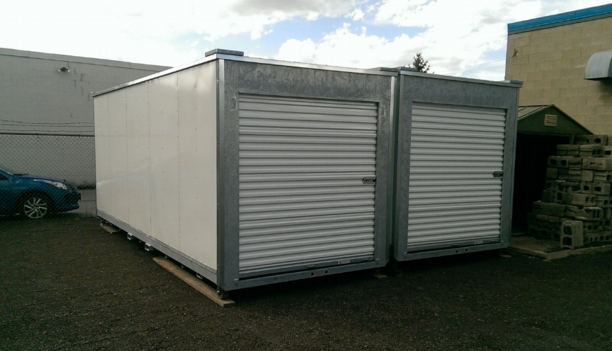 An example of our 20' storage containers.