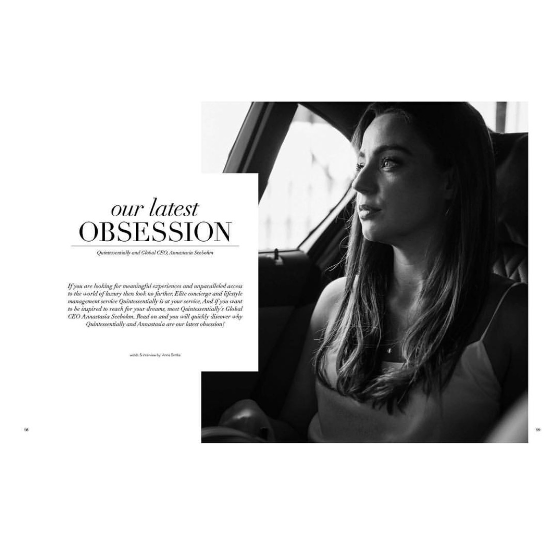 Annastasia Seebohm Electric Woman Brand Ambassador in Love Happens magazine