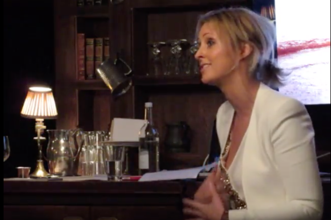 Nikki Armytage-Foy speaking at Electric House in 2015 on living your most Electric year yet.