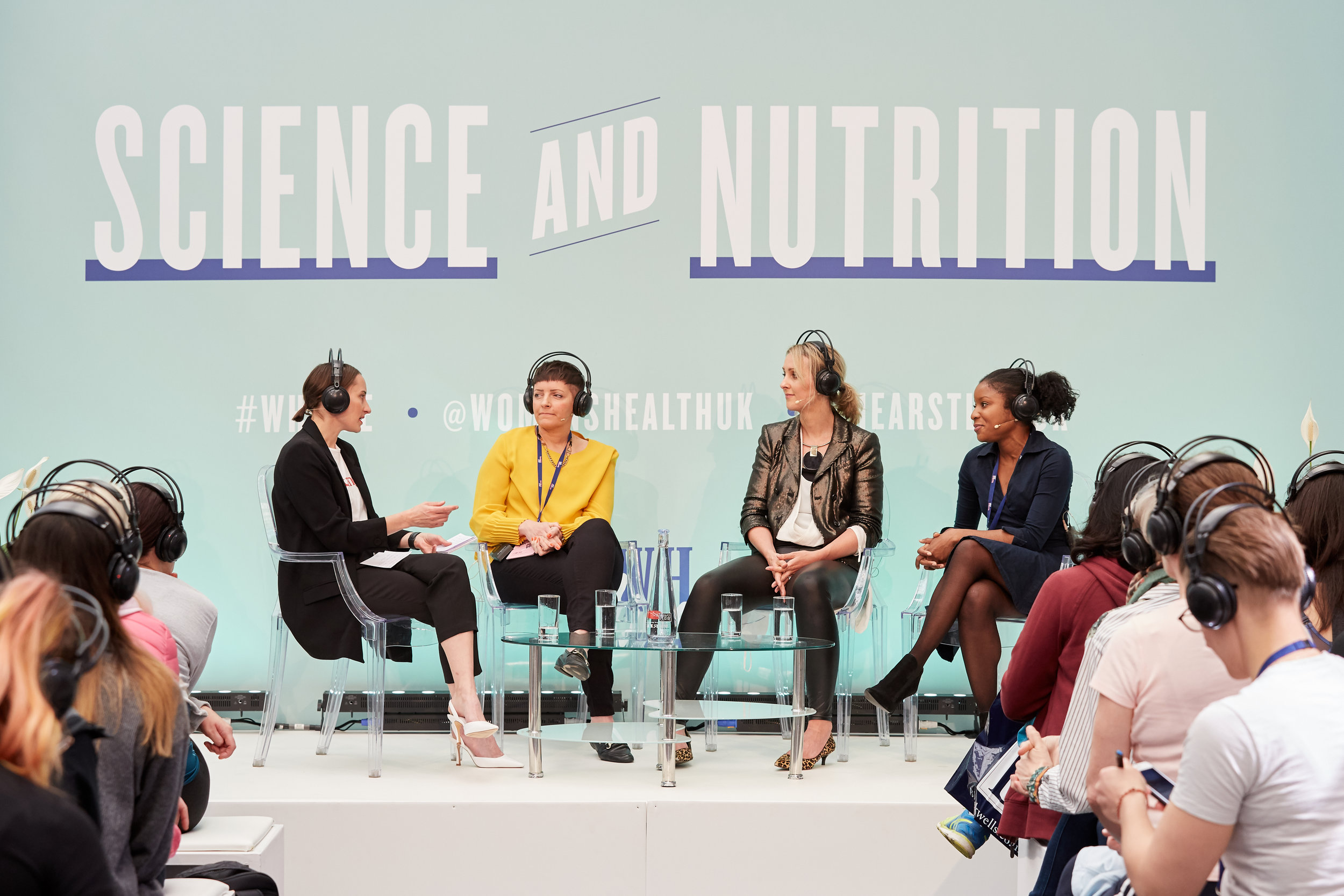 Nikki Armytage-Foy speaking at Women's Health Live 2019