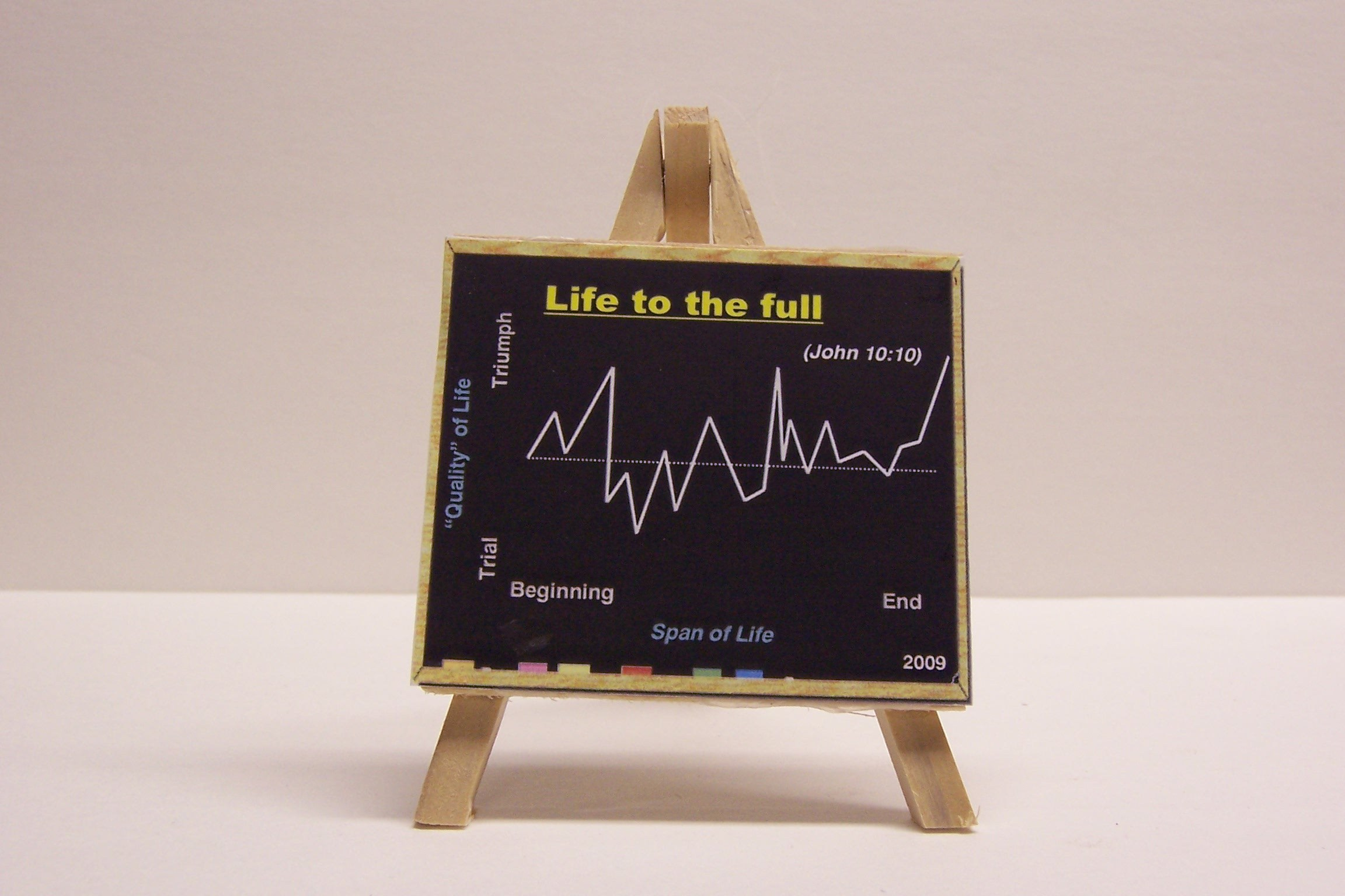 "2009 ""Life to the Full"" Ornament"