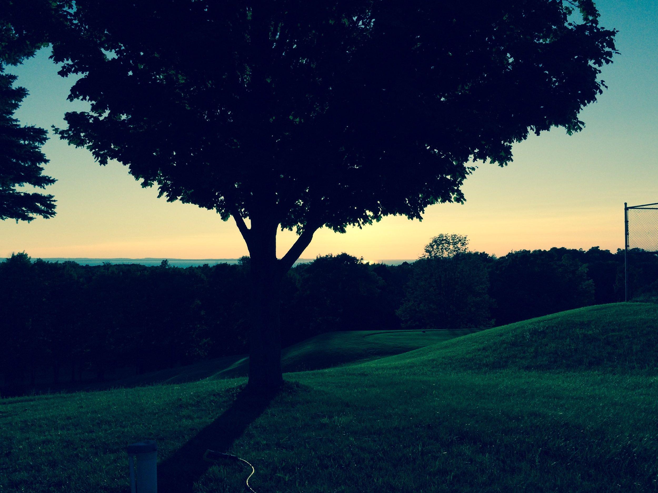 Morning stillness near Elsworth, MI