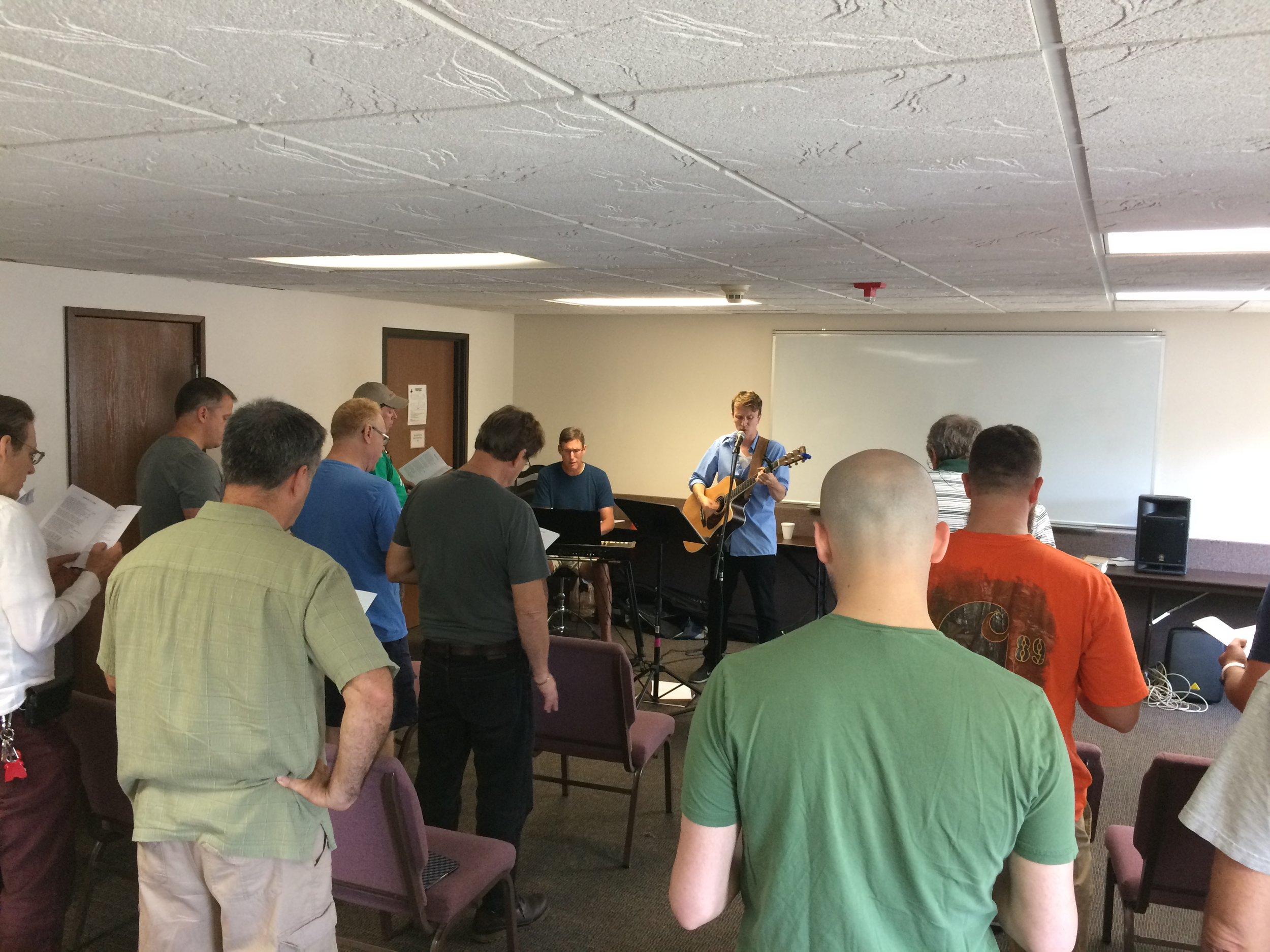 Worship session during 2017 retreat