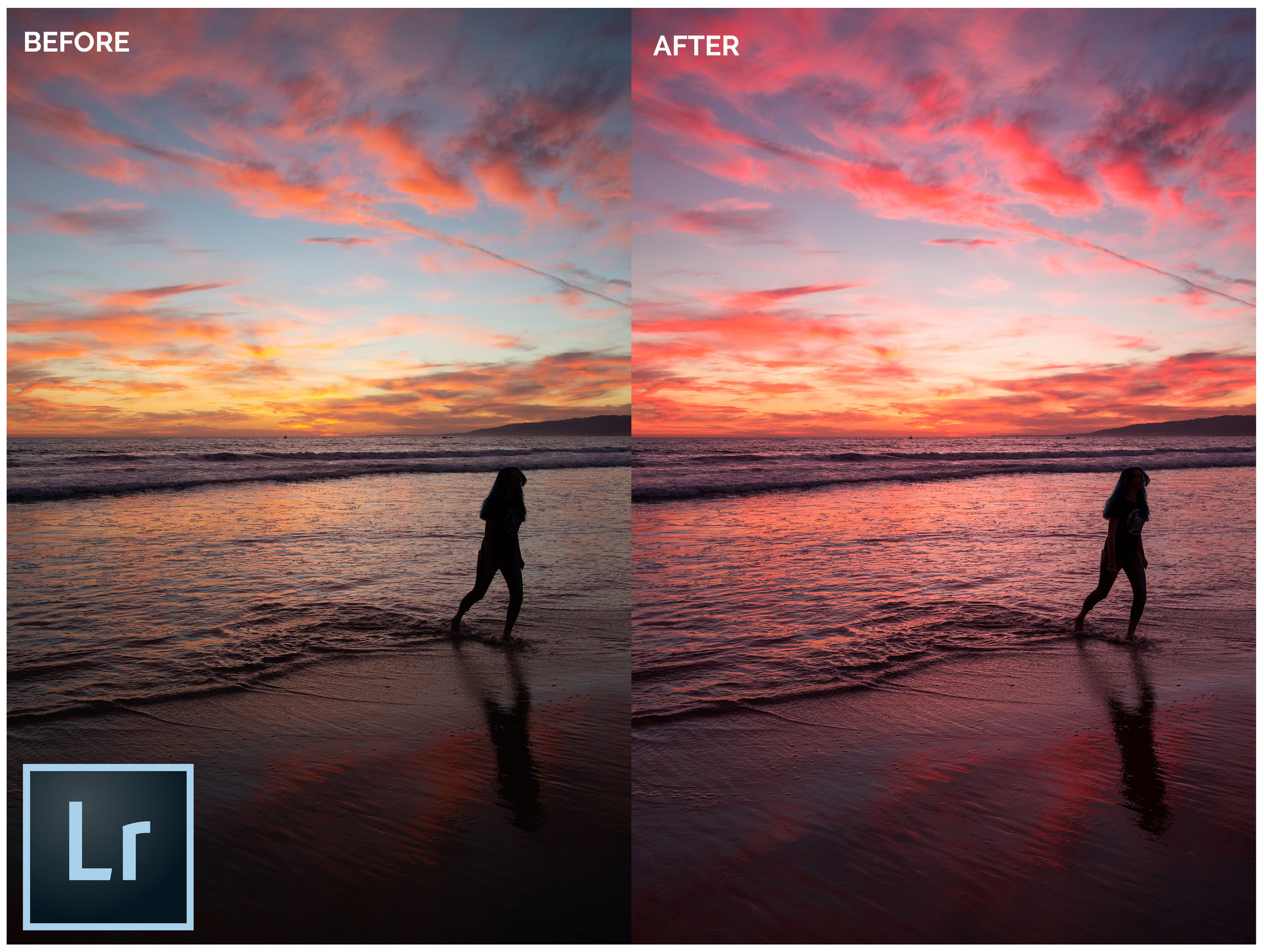 Free Lightroom Presets - Sunset Image