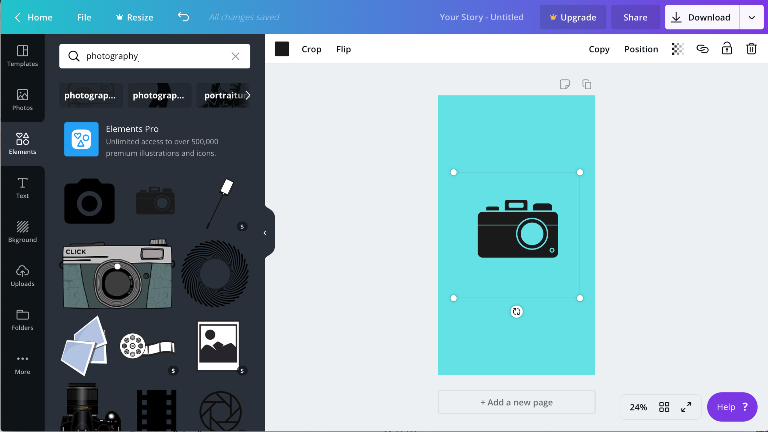 Instagram Highlight Covers in Canva