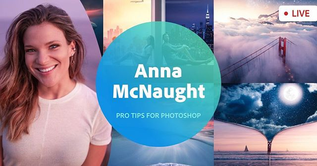 Come hang out with me on @adobe live today and tomorrow!! 9:30-11:30 AM PST  Head over to    Behance.net/live at 9:30 AM  I'll be editing live in @photoshop, sharing lots of art and business tips, and talking all about how I grew my business in the past few years.  Comment in the live chat box and I'll say hi 😁❤️ See you there!!