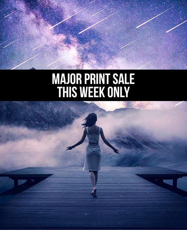 💥This week only: Major Signed Print sale! (All under $20)💥 Swipe to see a few of the pieces. . 10% of proceeds will go to the Sierra Club to help with environmental issues and wildlife protection. 🌿🦓🐳 . First 10 buyers will get a keychain and first 30 will get a hand written note from me!  I'm clearing out inventory before we move. This is the last time these prints will be available.  Click the link in my bio to view the prints, available sizes and prices!