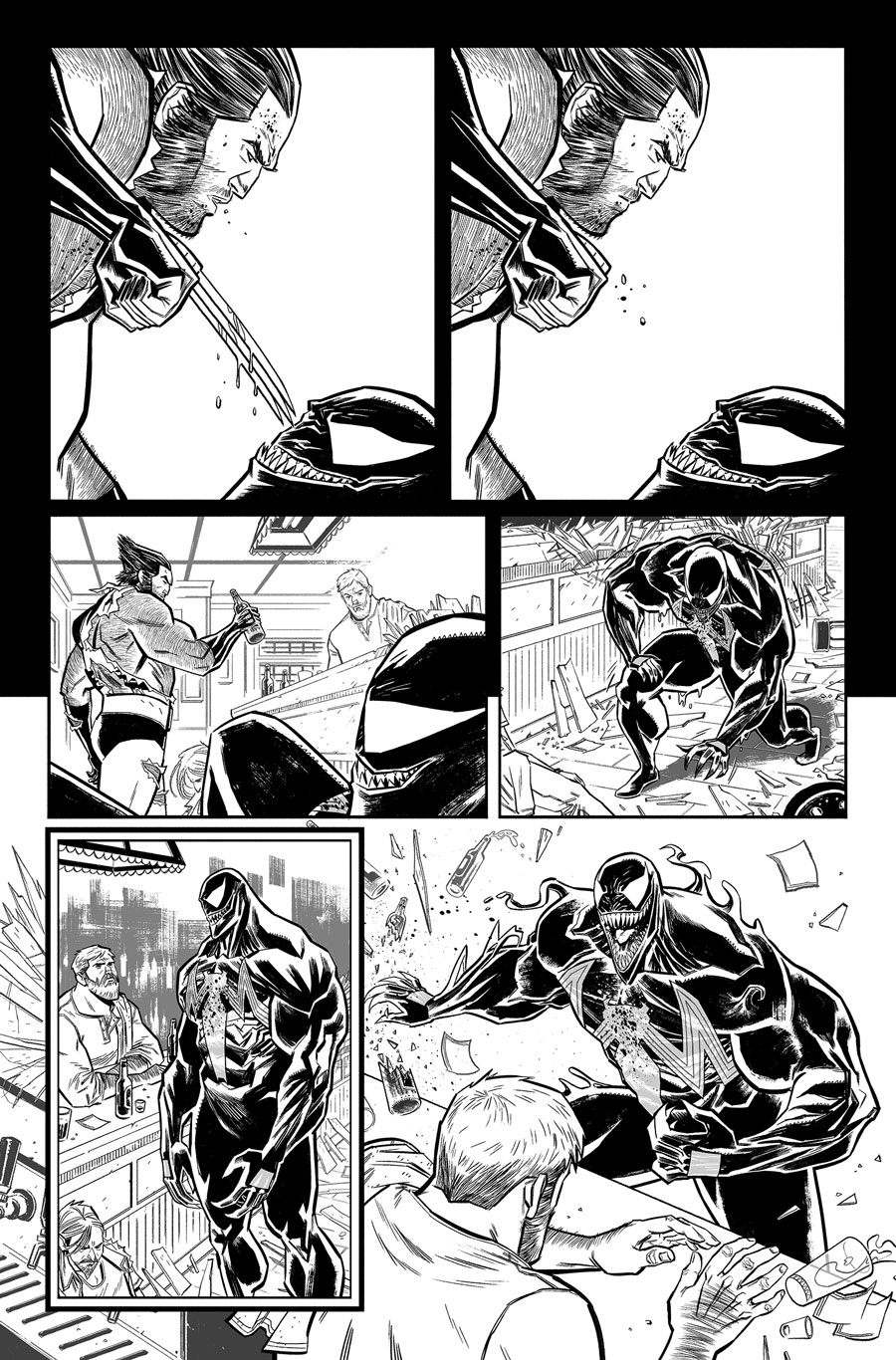 Venom Annual #1  Writer:  Jeff Loveness  Artist:  Tigh Walker   MARVEL,  2018