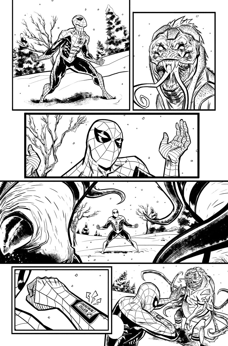 Spider-Man/Deadpool Monsters Unleashed #1  Writer:  Joshua Corin  Artist:  Tigh Walker   MARVEL,  2017