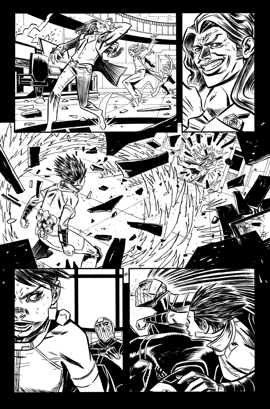 Avengers Undercover #10  Writer:  Dennis Hopeless  Artist:  Tigh Walker   MARVEL,  2014