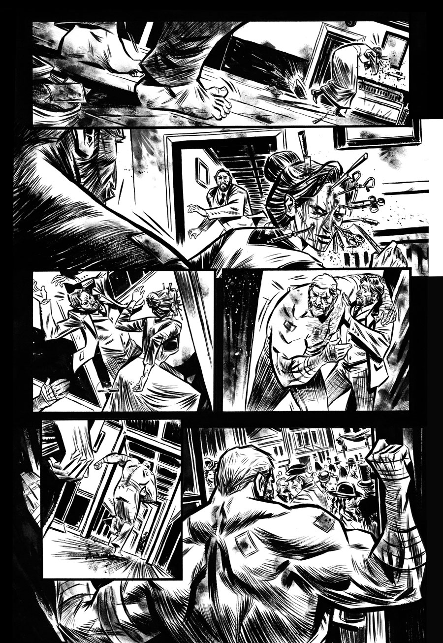 Hellbent  Writer:  Seth Peck  Artist:  Tigh Walker   BAD KARMA,  2013