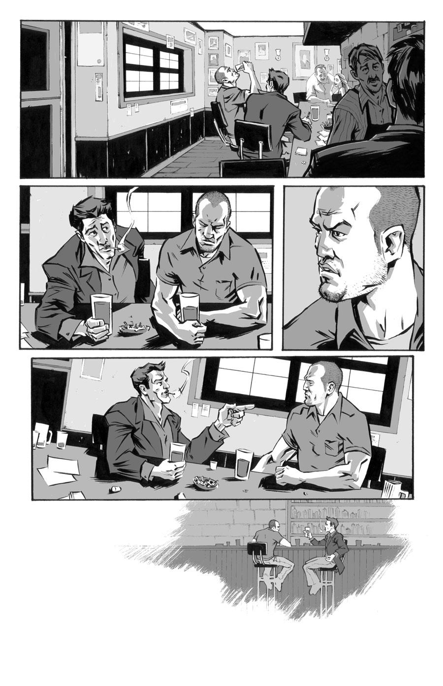 The Boxer (unused)  Writer:  Seth Peck  Art:  Tigh Walker   2006