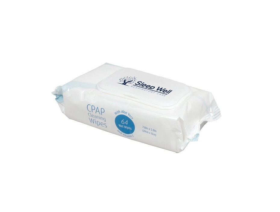 Sleep Well - CPAP Cleaning Wipes