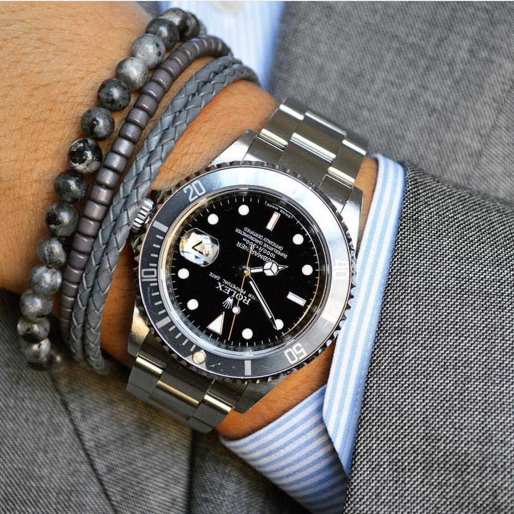 Rolex Submariner x Baxter&Baxter  Gunmetal 6mm  bracelet