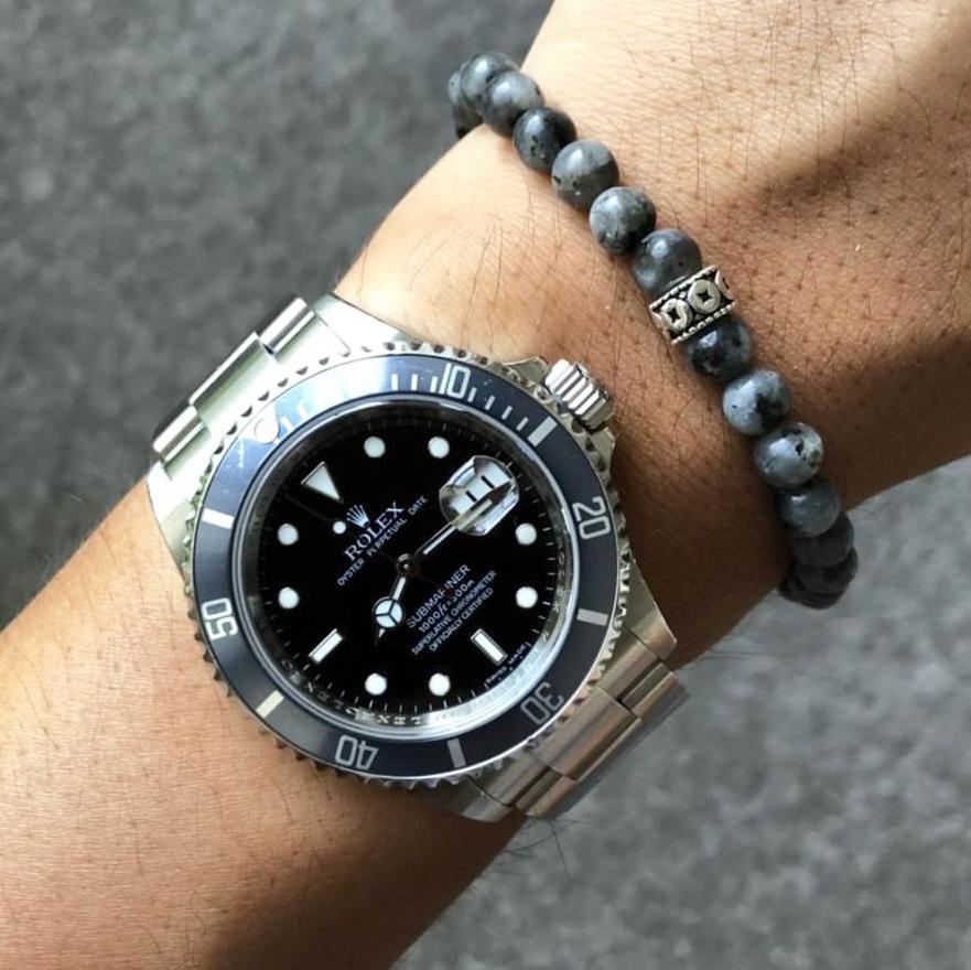 Rolex Submariner x Baxter&Baxter  Gunmetal 6mm  bracelet.